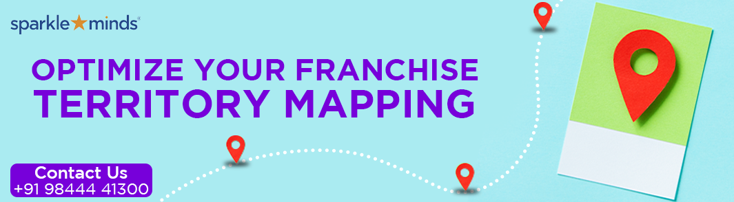 Franchise Territory Mapping :Sparkleminds